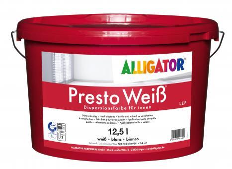 Alligator Presto Weiss LEF 12,5L
