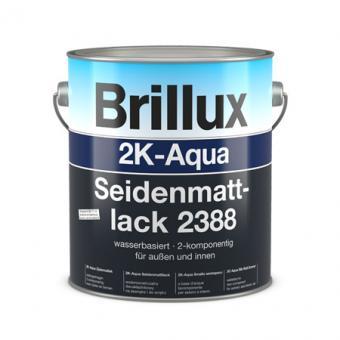Brillux 2K-Aqua Seidenmattlack 2388 weiß