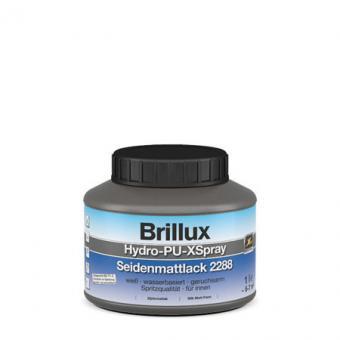 Brillux Hydro-PU-XSpray Seidenmattlack 2288 weiß 1,0Lt