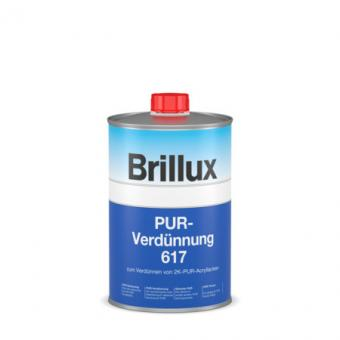 Brillux PUR-Verdünnung 617 farblos 1,0 Lt 1,0 Lt