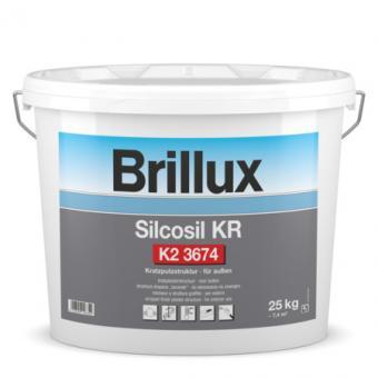 Brillux Silcosil Kratzputz weiß 25,0 kg