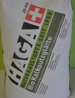 Haga 345  Bio Kalkputzglätte 18,0 kg