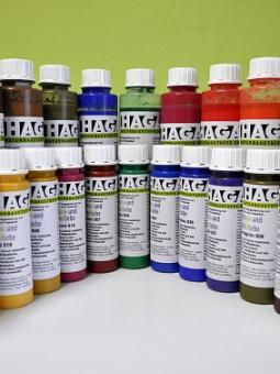 Haga Volltonfarbe und Abtönfarbe 250ml blau 504 250ml | blau 504