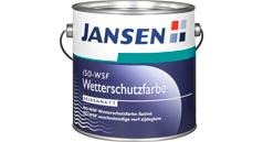 Jansen ISO-WSF Wetterschutzfarbe weiss