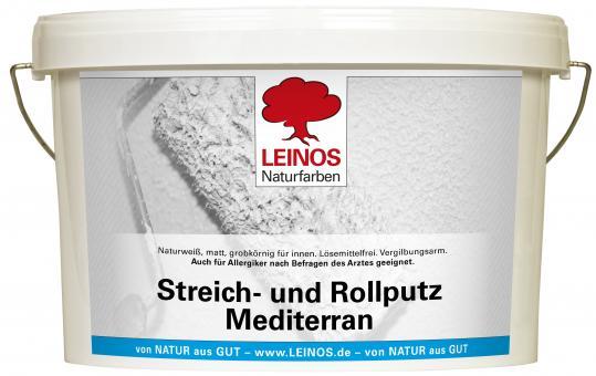 Leinos Streich- und Rollputz Mediterran 680