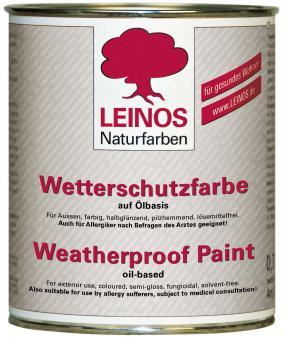 Leinos Wetterschutzfarbe auf Ölbasis 850