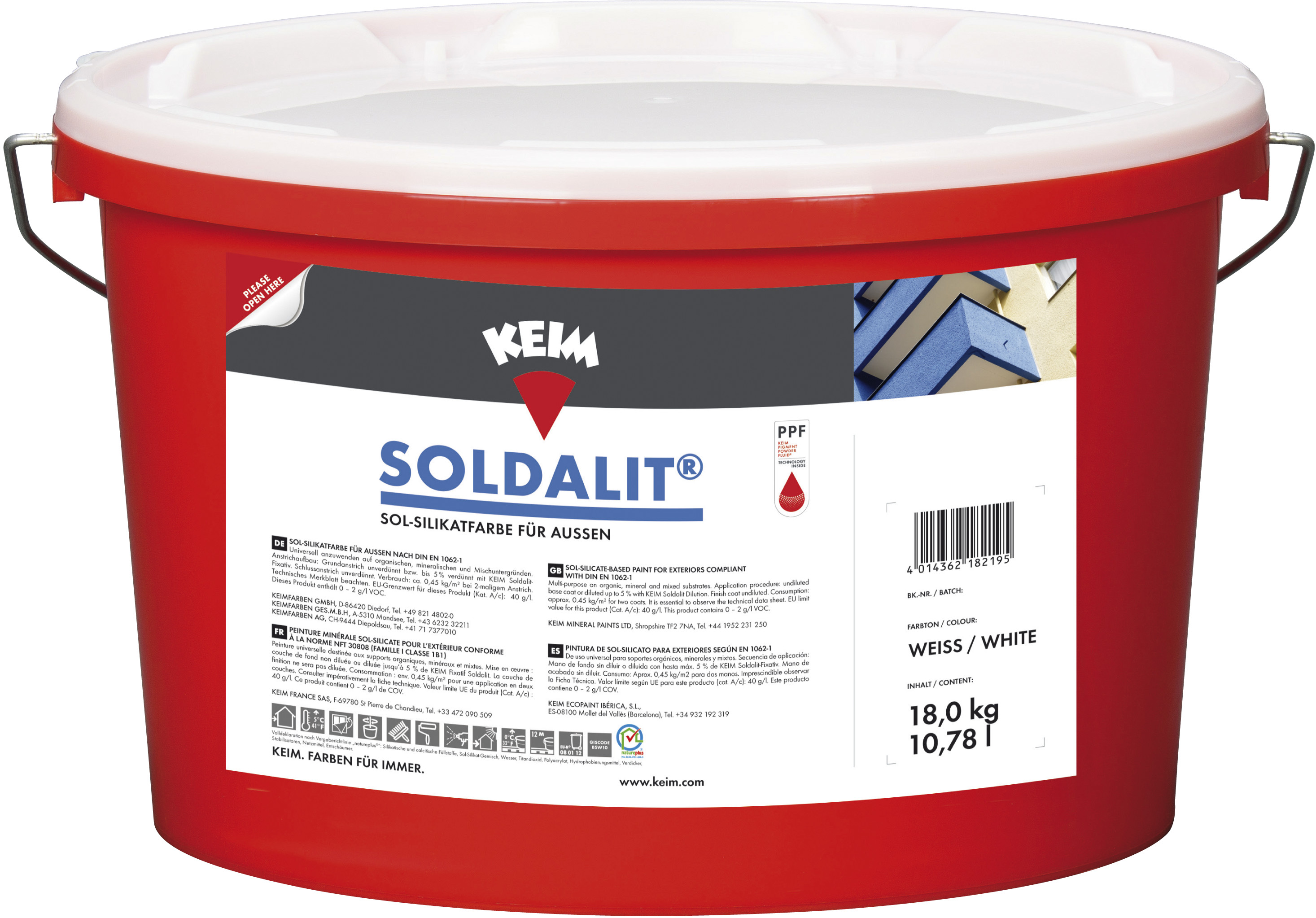 Turbo Wohnwerk | Keim Soldalit Sol-Silikatfarbe | online kaufen IA74